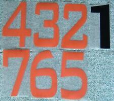 NUMERAZIONE DAL 1 AL 7 PER MAGLIE CALCIO - NUMBERS 1 TO 7 FOR FOOTBALL JERSEYS