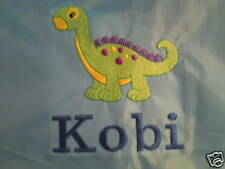 Personalised Dinosaur School/PE/Baby Drawstring Bag