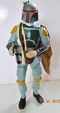 GRANDE FIGURINE FIGURE STAR WARS - BOBA FEET CHASSEUR DE PRIME 1995 APPLAUSE