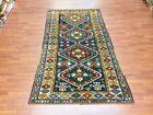 Antique Kazak Caucasian rug-4686
