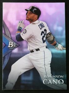 2014 Bowman Platinum #22 Robinson Cano - NM-MT