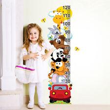 R00060 WallStickers Adesivi Murali Bambini Metro animaletti arrampicati 30x120cm