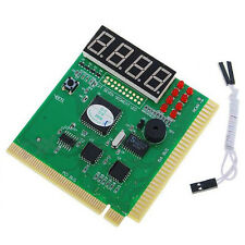 4 Digit Bit PC Computer Motherboard Diagnostic Card PCI POST Tester Analyzer NEW