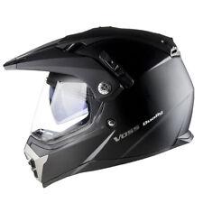 Voss 600 Dually Dual Sport Helmet DOT quick release eyeshade oval head shape