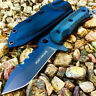 "10"" Full Tang Tactical Hunting Knife with Black Sheath - Stainless Steel Blade"
