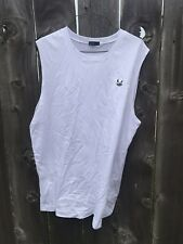 Godson Monster Logo Sleeveless White Men's