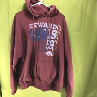 Seward Alaska Gildan Hoodie Sweatshirt Men's Size 2XL