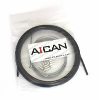 Aican Bike bicycle Shift Derailleur cable housing set kit vs Jagwire, Black