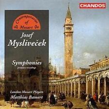 Josef Myslivecek : Symphonies (Bamert, London Mozart Players) CD (2004)