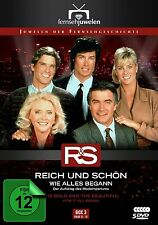 THE BOLD AND THE BEAUTIFUL 3 - Epis. 51 - 75  - Region2/UK - 5 DVDs - Ronn Moss
