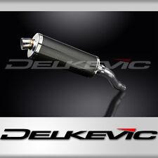 "Kawasaki Ninja 300 14"" Carbon Fiber Oval Muffler Exhaust Slip On 13 14 15 16 17"