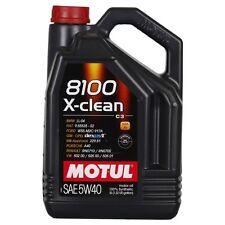 Motul 8100 X-clean 5W-40 5 LITRI ACEA C3, DEXOS 2, FIAT, BMW, PORSCHE, VW, FORD