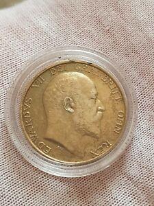 aUNC 1905 Shilling Edward VII Silver Coin Rare Condition , reed description pls