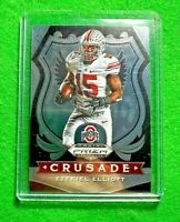 EZEKIEL ELLIOTT SILVER CHROME CRUSADE CARD COWBOYS 2020 PANINI PRIZM DRAFT PICKS