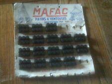 1 PAIR OF NOS MAFAC 3 DOT 35mm BRAKE BLOCKS