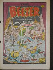 The Beezer Comic 1st October 1988 (Issue 1707)