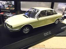 NSU AUTO UNION AUDI ro80 RO 80 Wankel BERLINA 1972 Giallo Yellow Minichamps 1:18