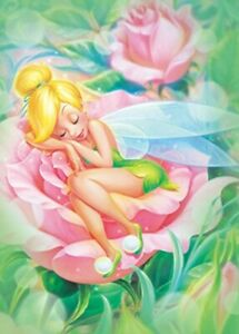 Disney Tinker Bell Jigsaw Puzzle Tenyo 500 pieces D-500-384 From Japan New