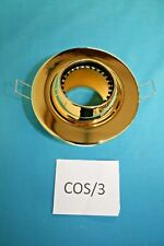 Polished Brass low voltage downlighter