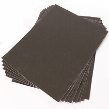 Gran Esmeril Paño 8 Hojas Pack 60 +100 +150 Grits fine/coarse fuerte papel de lija