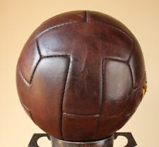 Vintage French T-Panel Football. Old Soccer T Ball Ballon. c1950