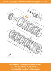 1 Disco Molla 1 ORIGINALE per Frizione Yamaha T-Max 530 2012-2019