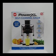 New ListingPowerXl Self Cleaning Juicer - Silver Open Box