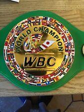 WBC boxing belt