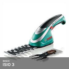 Bosch Isio3 Cordless Shrub Grass Shear Set 19.5Oz Li-Ion Battery +Blade 12cm 8cm