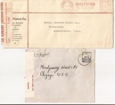 PALESTINE(+ALSO SOUTH AFRICA)-2 W W II Censored covers at low price