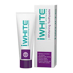 iWhite Instant Teeth Whitening Toothpaste - Active Teeth Whitening - Enamel -