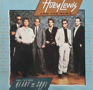 """Huey Lewis And The News-Heart And Soul EP Vinyl 12"""" Single.1985 Chrysalis HUEYX2"""