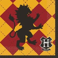 HARRY POTTER Mascots SMALL NAPKINS (16) ~ Birthday Party Supplies Serviettes