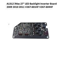 "A1312 iMac 27 ""LED Backlight INVERTER BOARD 2009 2010 2011 v267-601hf v267-604hf"