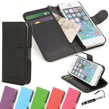Fundas con tapa de piel sintética para teléfonos móviles y PDAs Apple