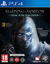 Middle-Earth Shadow of Mordor GOTY Game of the Year PS4 NEW DISPATCHING BY 2 PM