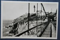SOUTH STACK LIGHTHOUSE   Anglesey   Original Vintage Photo Card