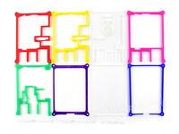 Waveshare Rainbow Case (Type C) for Raspberry Pi 2 / 3B / 3B+ 7 colors