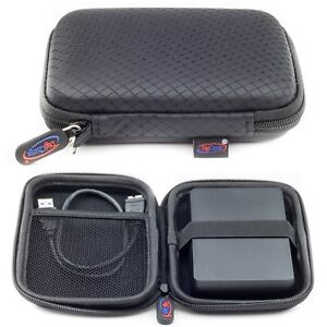 Black Case For WD My Passport Ultra & Elements External Portable Hard Drive Case