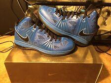 New Nike Lebron 8 P.S. Varsity Royal Black White Vibrant Blue Size 10