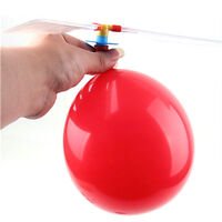 Funny Balloons Helicopter Flying Educational Science Aircraft Children Toy 3 Set