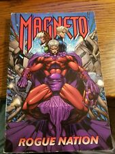 Magneto Rogue Nation Oop Tpb Marvel Trade Paperback