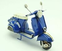 Vintage Moped Metal Model Home Crafts Decoration Ornament Father Gift Ornament
