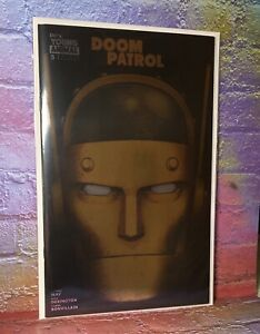 DC Comics Doom Patrol #5 SDCC Exclusive Gold Foil Variant Cover NM