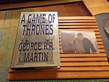 A GAME OF THRONES, George R R Martin, True 1st Edition, **SIGNED**