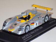 1/43 Minichamps Audi R8R car #9 Team Joest 24 Hours of LeMans 2000 2nd Place