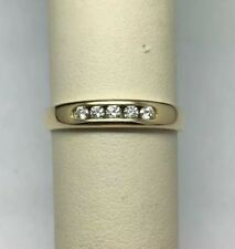 James Avery 18K Yellow Gold Debra Diamond Ring Size 9.25