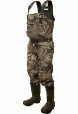 frogg toggs BullTogg Bull Hide Neoprene Camo Cleated Chest Waders Max 5 Hunting