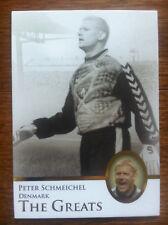 2013 Futera Unique Greats Soccer Card - Denmark SCHMEICHEL Mint
