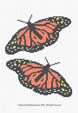 Crochet Patterns - MONARCH BUTTERFLIES pattern